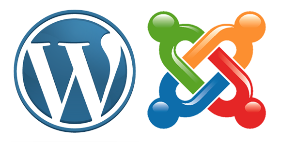 WordPress y Joomla