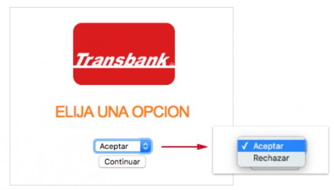 Acepatr Transbank