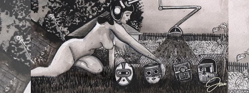 La Mirona Ilustracion